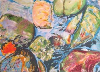 'Kaleidoscope' 2015 – Coloured Pencil on Paper 42.0 x 59.4cm $1800