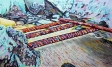 'Foundation' 2016 - Coloured Pencil on Paper 29.7 x 42cm $550