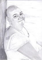 'Just A Little Unwell' 2013 - Graphite Pencil on Paper 29.7 x 42cm