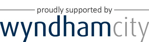 Wyndham logo BlueGrey supported by